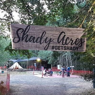 Entrance to shady acres