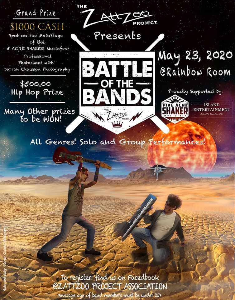 Battle of the Bands poster.